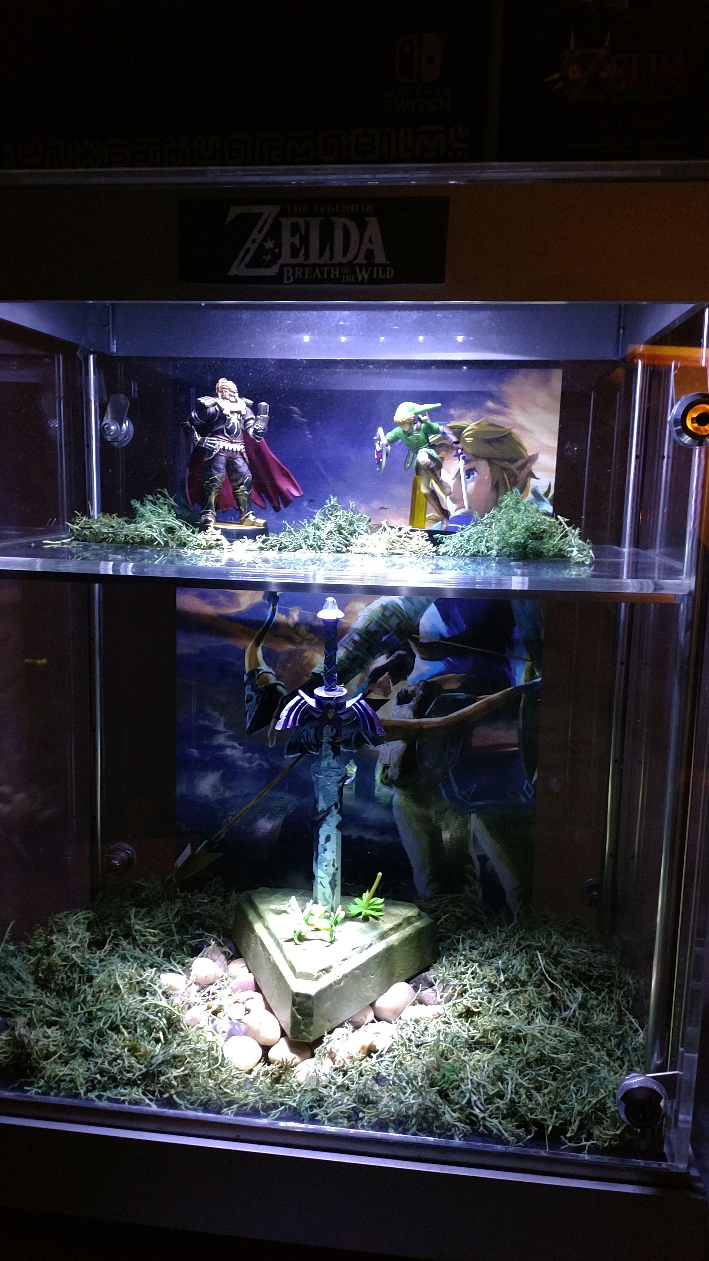 Image result for legend of zelda fish tank