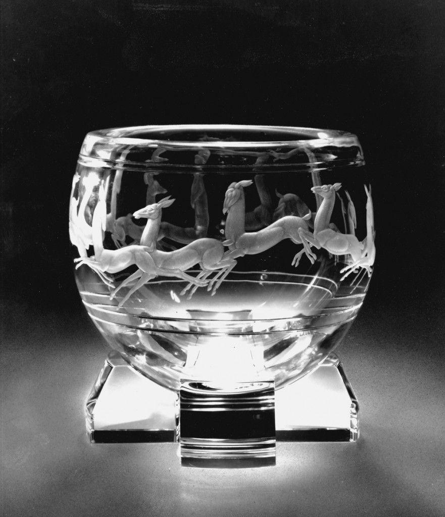 Steuben glass designer sidney waugh american 19041963 gazelle steuben glass designer sidney waugh american 19041963 gazelle bowl 1935 reviewsmspy