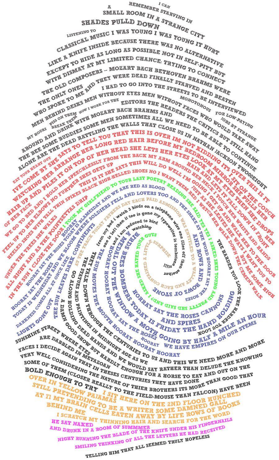 thumbprint poem