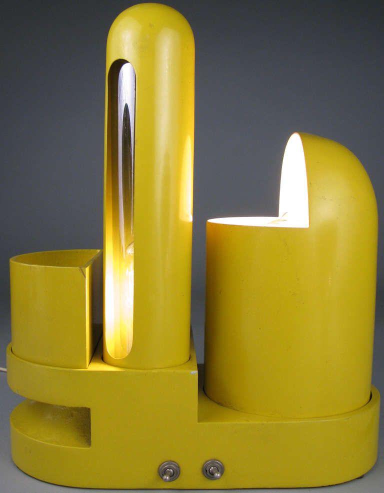 Rare Italian Rimorchiatore Table Lamp By Gae Aulenti Lamp Table Lamp Vintage Lamps