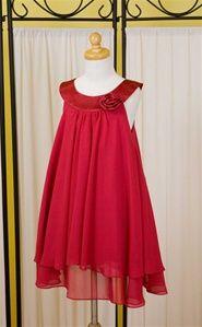 Simple, but I like it-Red Flower Girl Dresses