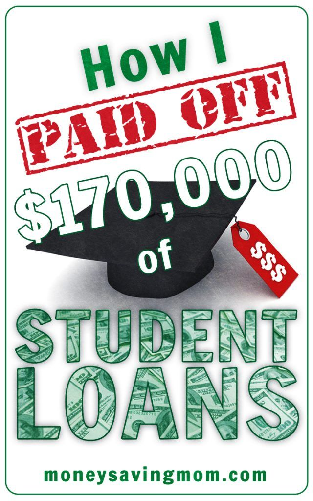 How I Paid Off 170,000 of Student Loans Paying off