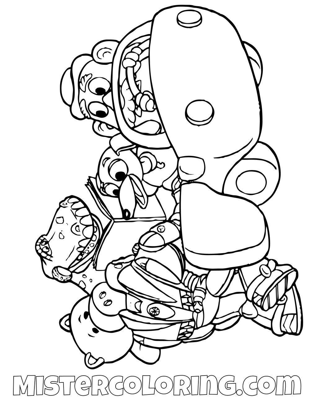 Rex Ham Slinky Dog Mr Potato Head Buzz Lightyear Riding A Car Toy