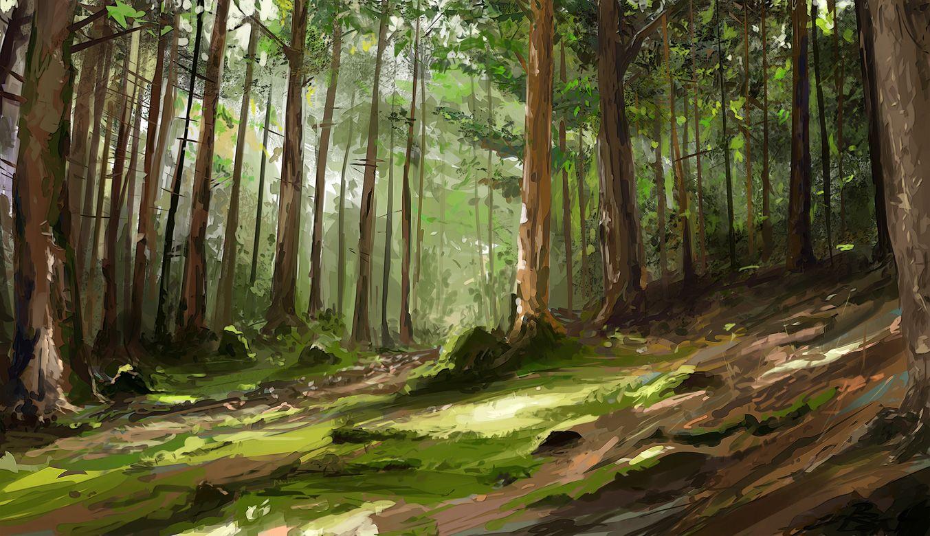 [Partie 8] Promenons-nous dans les bois... 19214594b3330e9347a5812b20454852