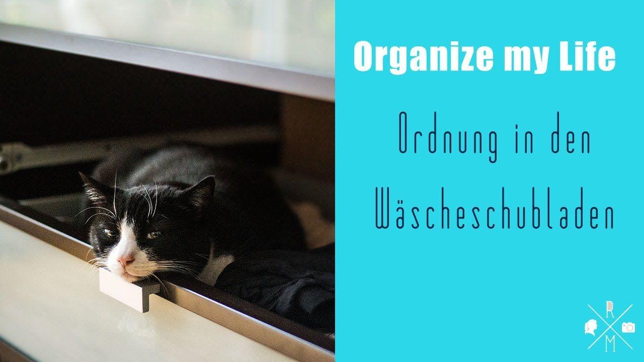 Ordnung - Schubladen Organisation im Schlafzimmer mit selbstgemachten Sc...