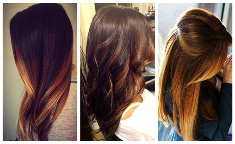 покраски волос 2016 фото