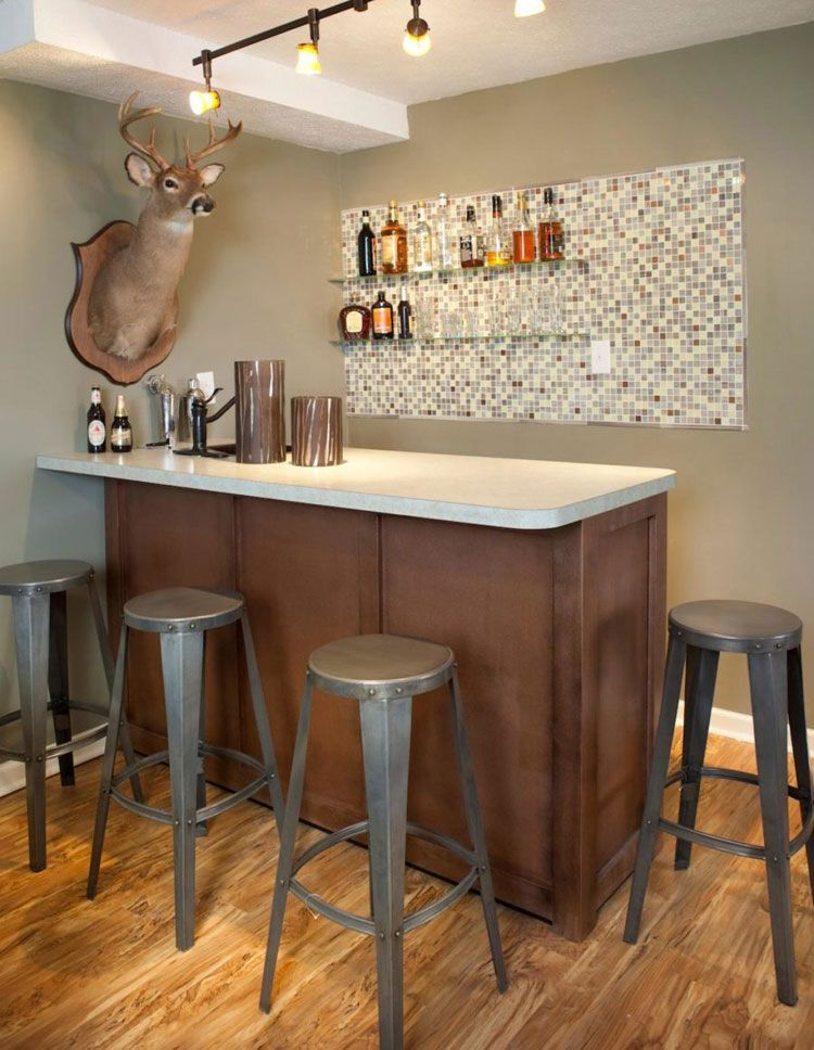 Building Corner Bar For Small Spaces In 2020 Home Bar Designs