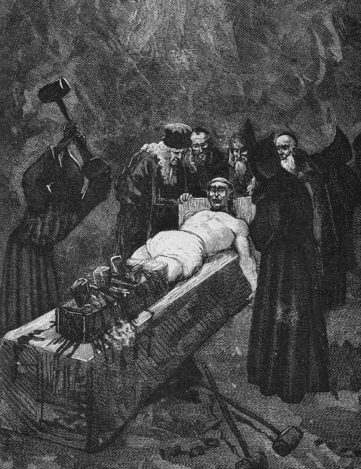 Witch torture fetish