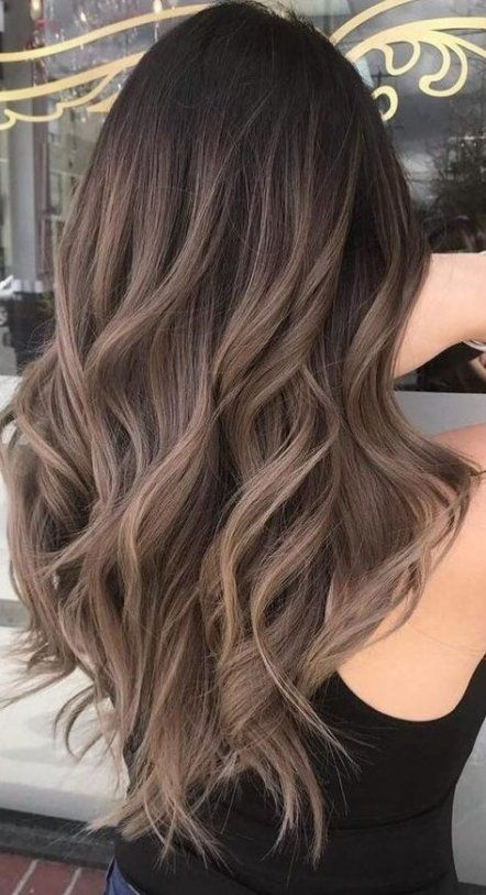 Great hair color ideas for brunettes SCAN natural highlights Ideas 55+