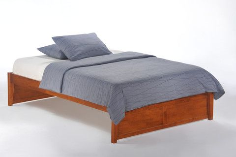Basic K Series Solid Wood Platform Bed Hardwood Platform Bed