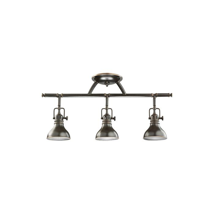 Rail Lights 3 Light Directional Track Kit Bathroom