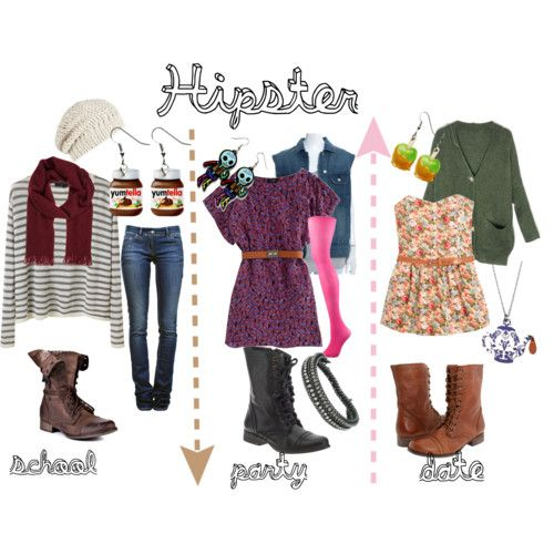 Dress hipster style