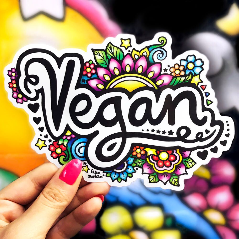 Animal Rights Liberation Life Matters Sticker Sticker Vinyl Bumper Sticker Decal Waterproof 5