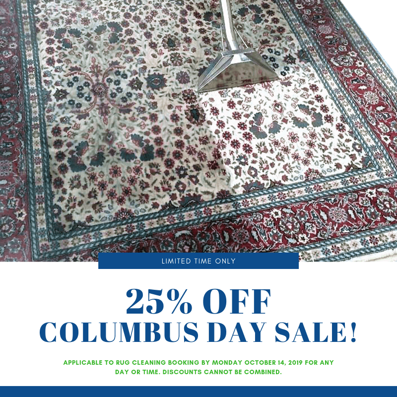 ⚓ Save This Columbus Day 🏷 25% OFF Rug Cleaning ↪️ 7 DAY TURNAROUND! ☎️ FREE Estimates (877) 383-1493 🌐 www.RugCleaningShop.com ——— #rugcleaning #rugrepair #nyc #ny #manhattan #orientaltugcleaning #persianrugcleaning #sale #promo #deal #dailydeal 23m