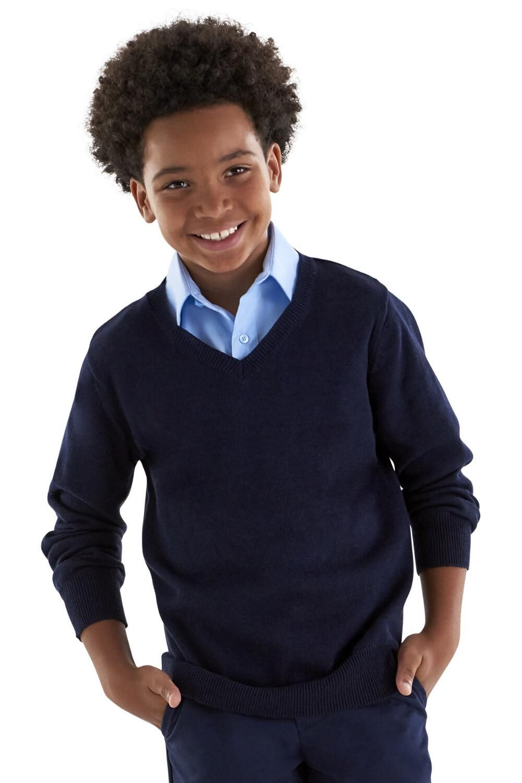 French Toast Boys V-neck Sweater Vest