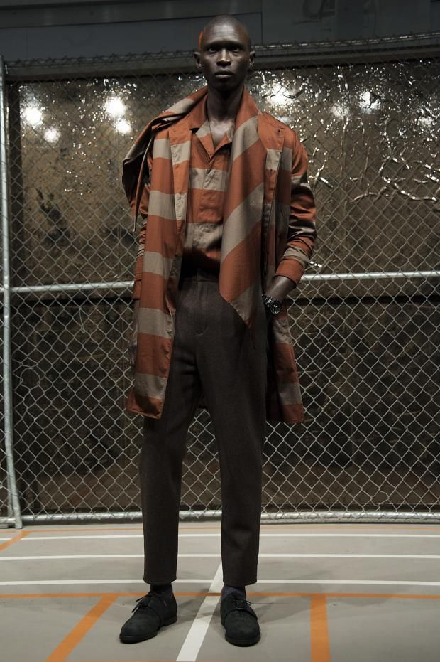 Robert Geller Men's Fall Winter 2015 Otoño Invierno #Menswear #Trends #Tendencias #Moda Hombre