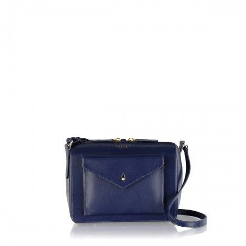 c2673d14ad80 Radley London Keats Grove Zip Top Cross Body Bag Midnight