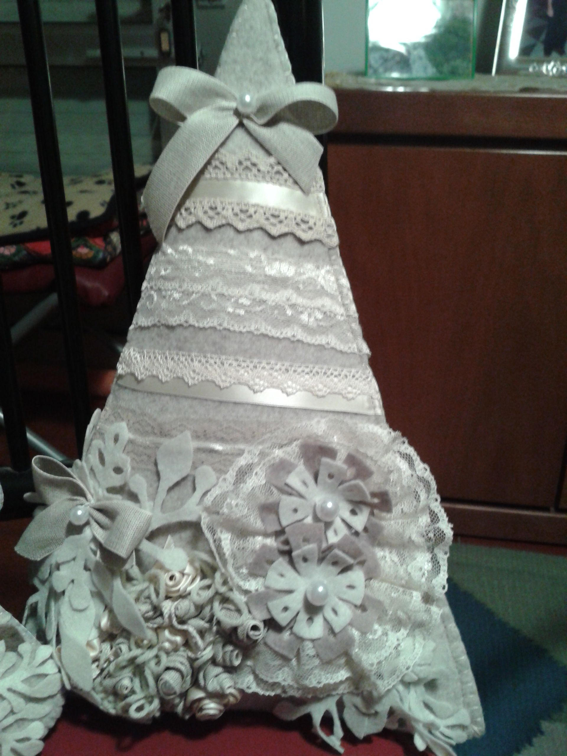 Albero di natale in feltro by luisa valent natale my works pinterest natale xmas and - Pinterest natale ...
