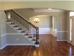 The Front Entry And Dining Room Of Avalon Home Design By Ryan Homes At Liberty