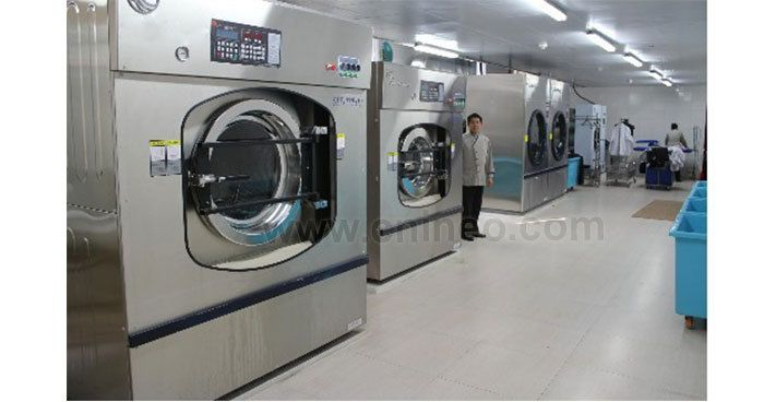 60kg Microcomputer Controlled Big Washing Machine Hospital Used