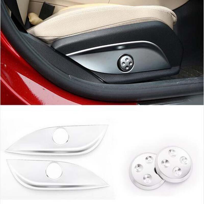 Abs Chrome Trim Seat Adjustment Car Accessories For Mercedes Benz