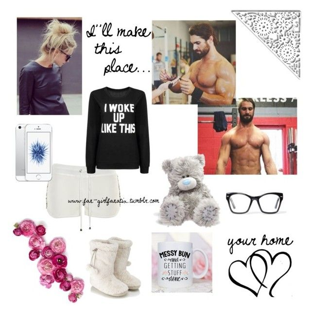 """WWE Seth Rollins"" by fan-girlfanatix ❤ liked on Polyvore featuring mmm, Philipp Plein, Accessorize, CO and Spitfire"