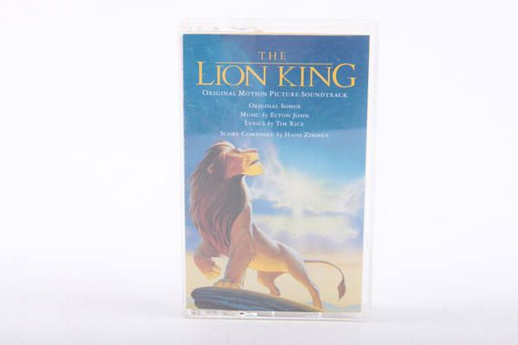 The Lion King Soundtrack Cassette