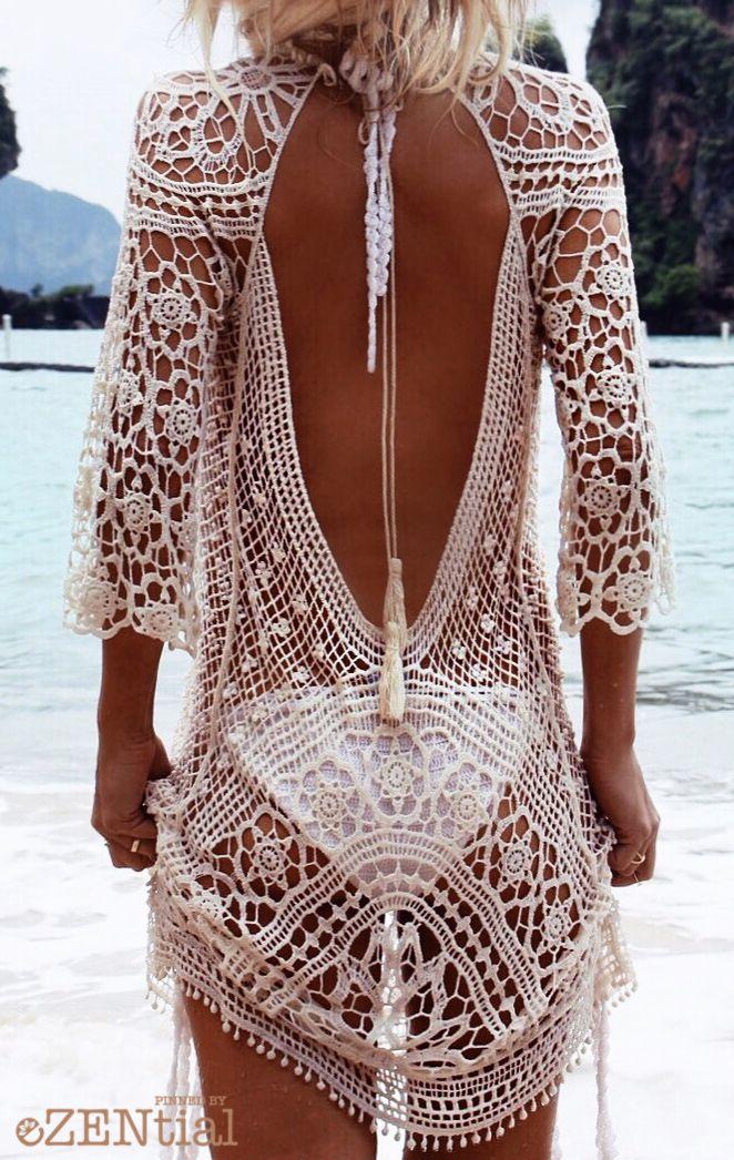 82cfcb63a4 Pour la plage par dessus un maillot de bain...ou avec une camisole ...