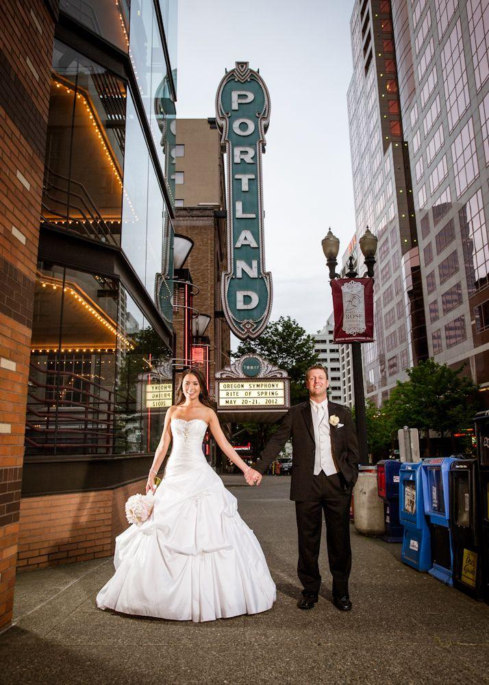 Mike Sarah Adrianna Hill Grand Ballroom Portland Oregon Wedding Photography Blog