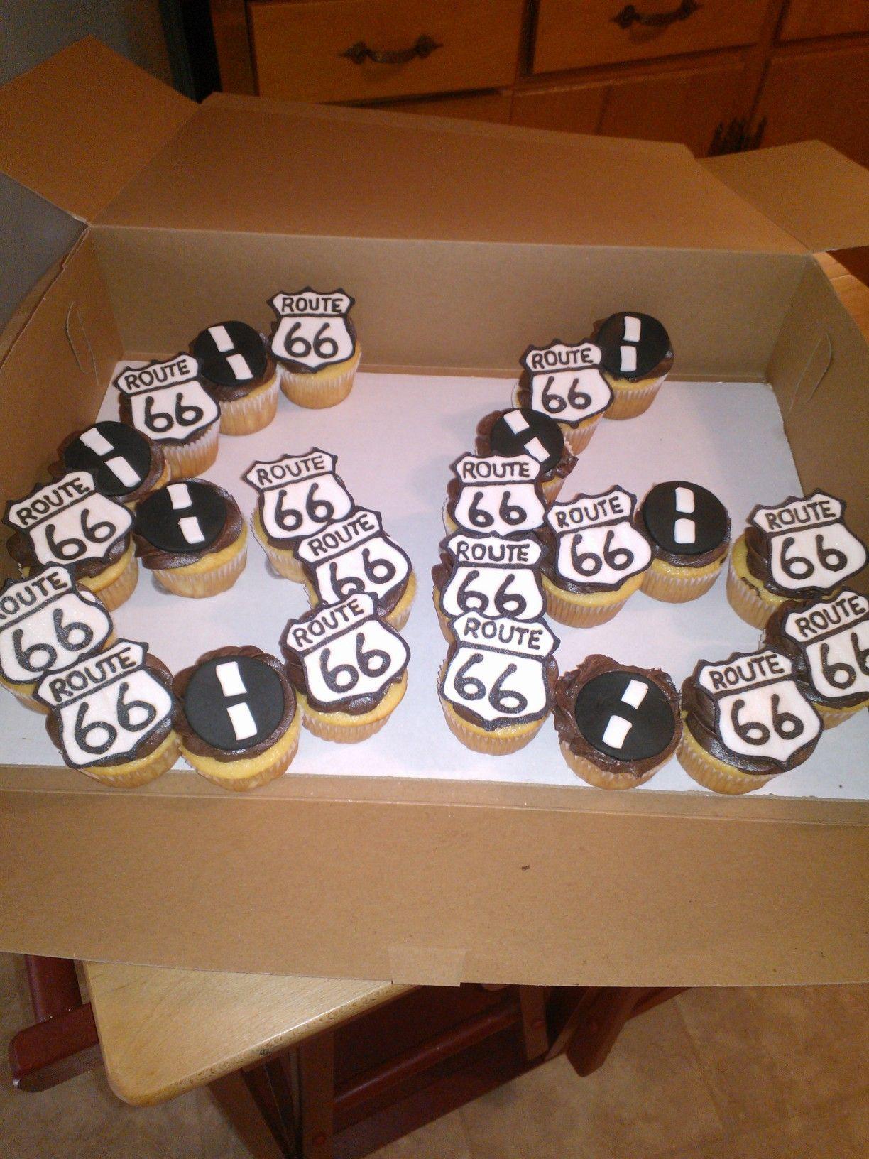 Route 66 Cupcakes More ★ Birthday Cakes ★ 30 Birthday
