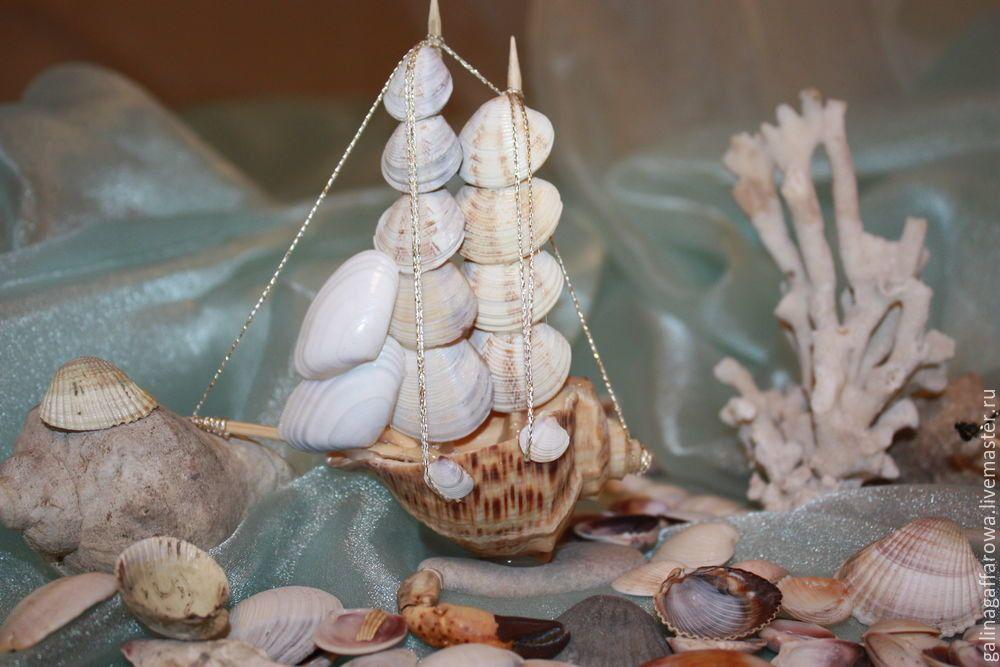 поделки из морских ракушек своими руками фото фигура станет