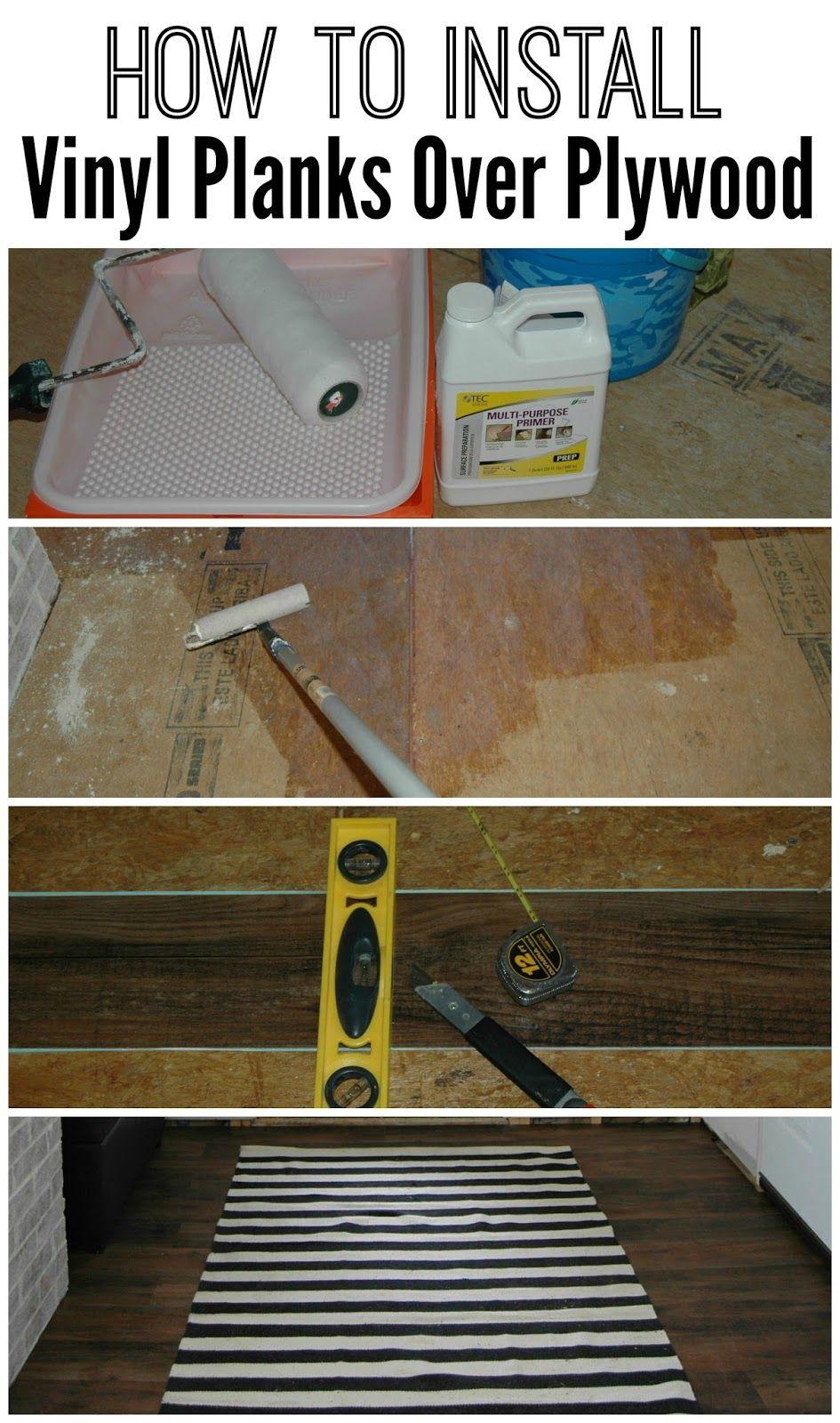 Mudroom Progress Installing Vinyl Plank Flooring Attic Master