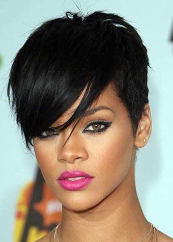 Black Celebrity Pixie Hairstyles 2018 Rihanna Hairstyles