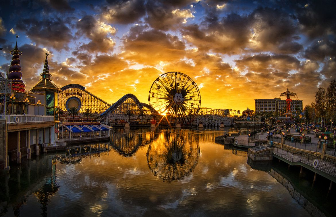 Paradise Pier, California, USA