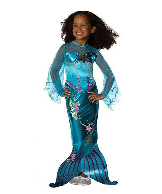 Inspiration - Blue Magical Mermaid Dress - Toddler  Girls Sew and - halloween costume ideas for tweens