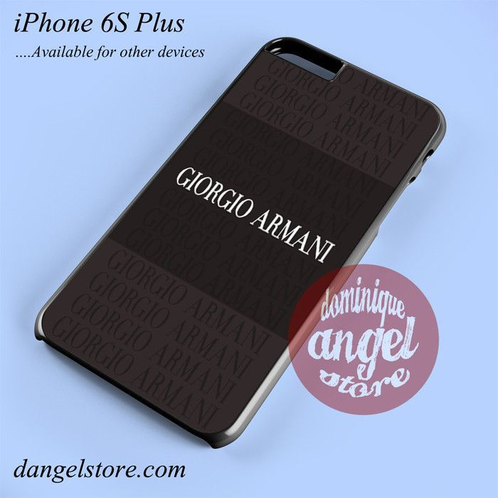 Giorgio_Armani Phone case for iPhone 6S Plus and another iPhone devices