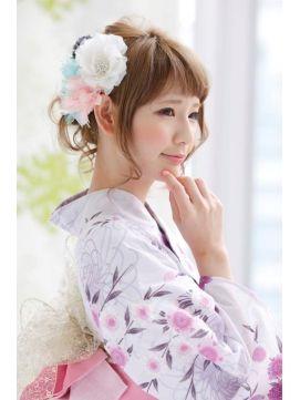 浴衣 髪型 サイド 1000+ images about Hairstyles for Yukata on Pinterest   Style ... 浴衣 髪型