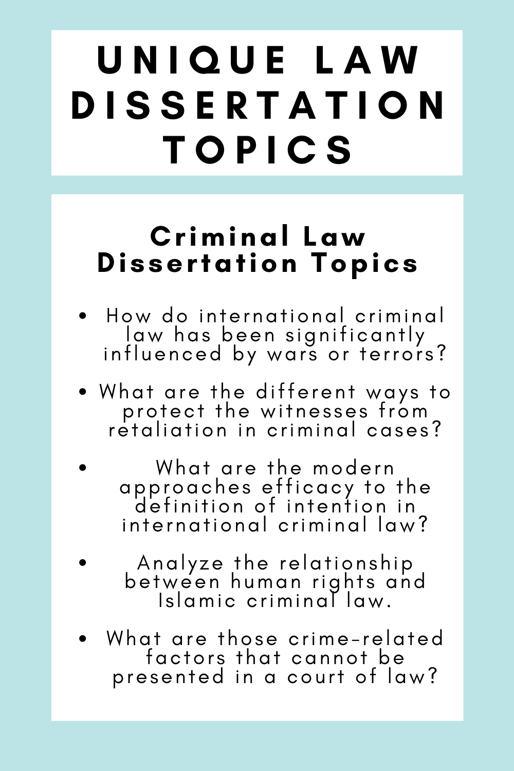 25 Unique Law Dissertation Topic For Student In 2020 Book Writing Tip Academic Service Crime Topics Youth Idea White Collar