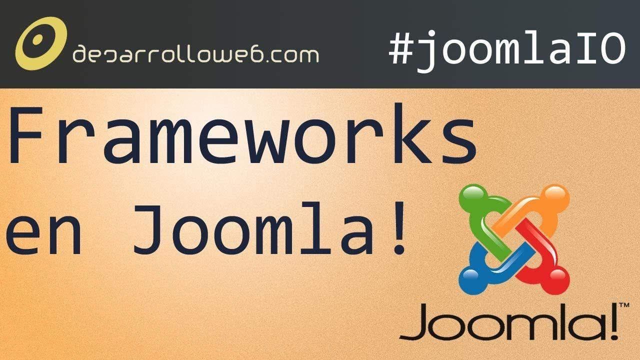 Framework Para Dominarlos A Todos Y De Desarrollo Web Para Joomla Joomlaio Desarrollo Web Desarrollo De Software Software