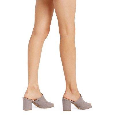 de42852958f Women s Didi Mule Pumps Merona - Grey 5.5