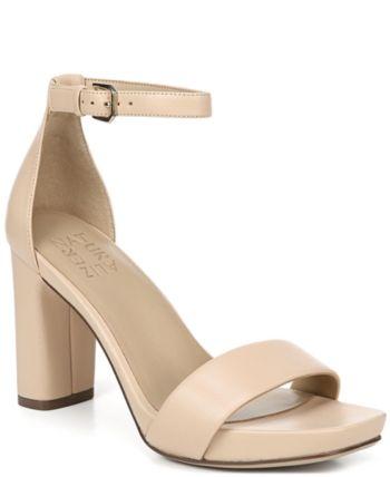 db5aaa6afa08 Naturalizer Joy Ankle Strap Sandals - Tan Beige 10.5M