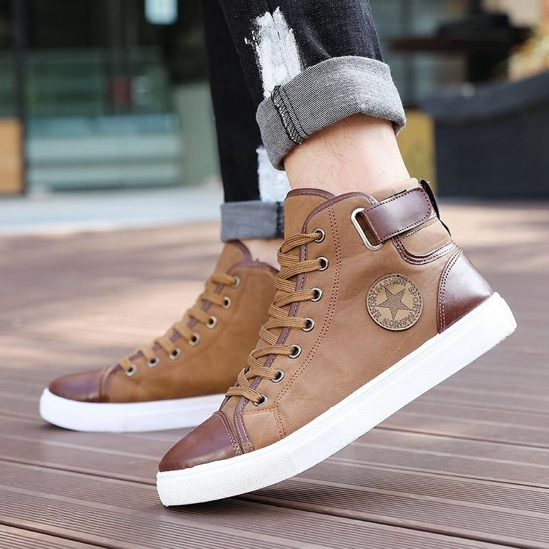 Men's LaceUp Ankle Casual  Shoes is part of Casual running shoes - Discover Our Men's Latest Selection of Stylish   Trendy   Ankle Boots   Casual Wear   Everyday Footwear   Simple   Mixed colors for Spring   Autumn and Winter at RnD International with Free Worldwide Shipping