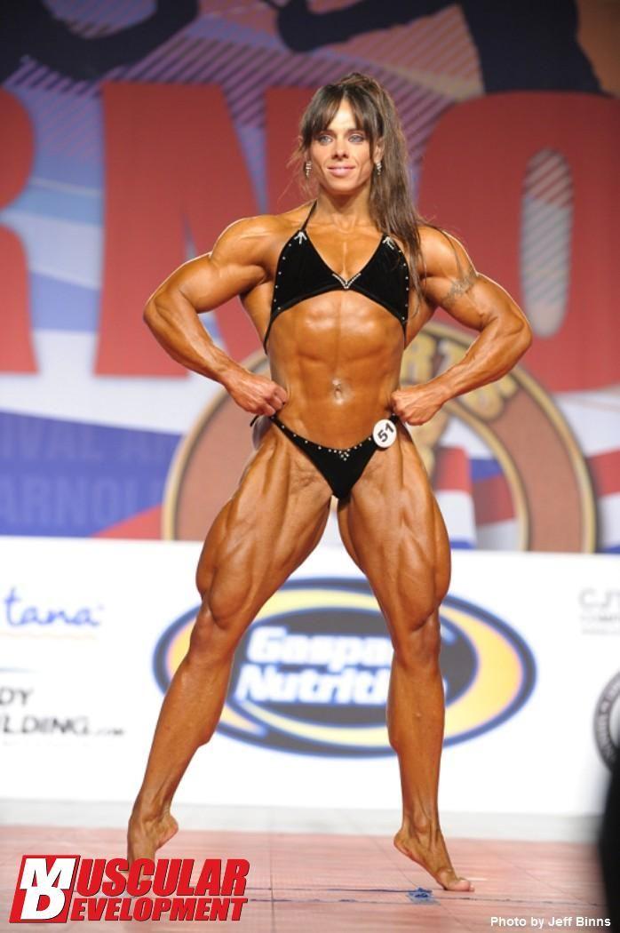 Female muscle slave