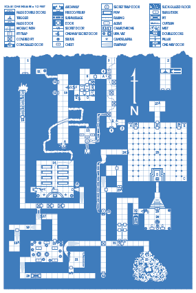 Tomb Of Horrors Map The co founder of Pinterest loves Dungeons & Dragons. Evan even