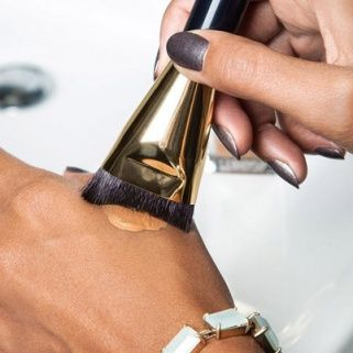 How to Apply Foundation with Estee Lauder's New Brush