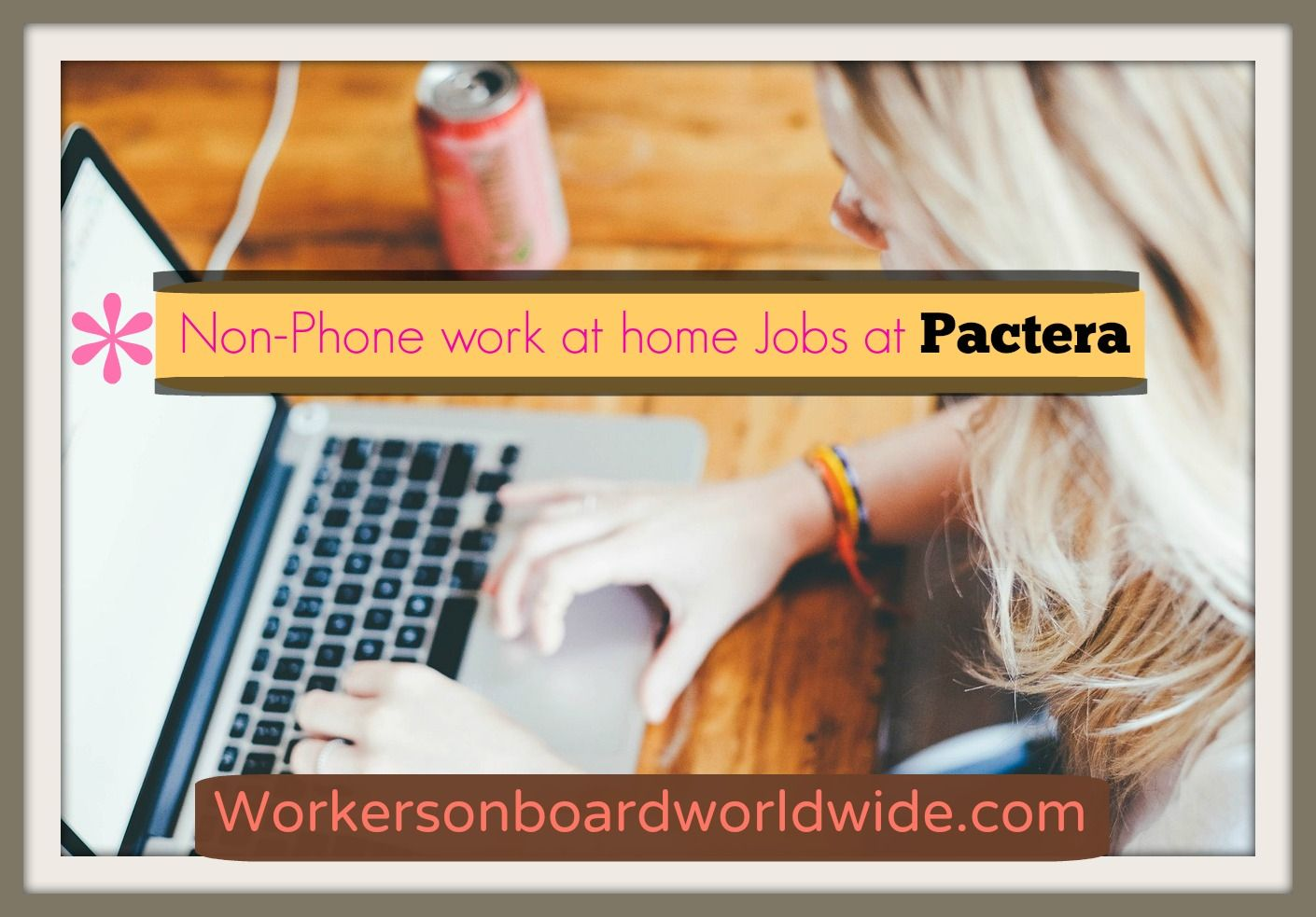 Non Phone Work at home Jobs at Pactera (With images