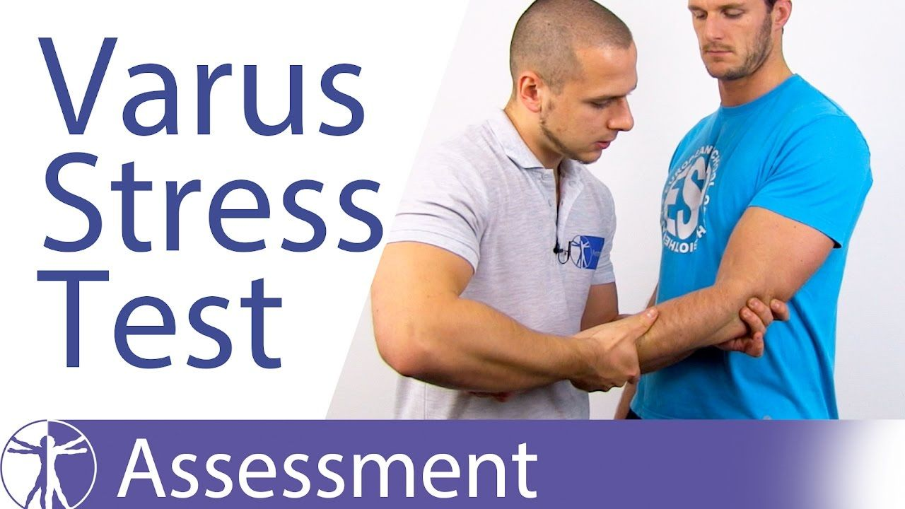 Elbow Varus Instability Stress Test⎟Lateral Collateral