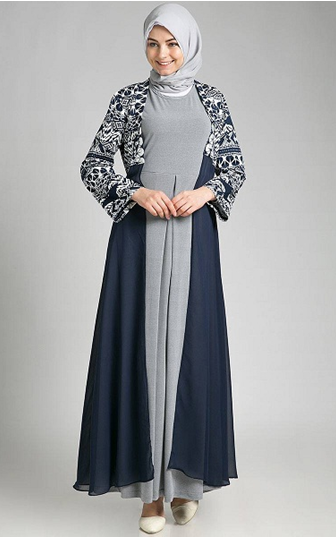 Baju Batik Muslim Model Layered Dress. Find this Pin and more on for  cardigan ... eb743c377a