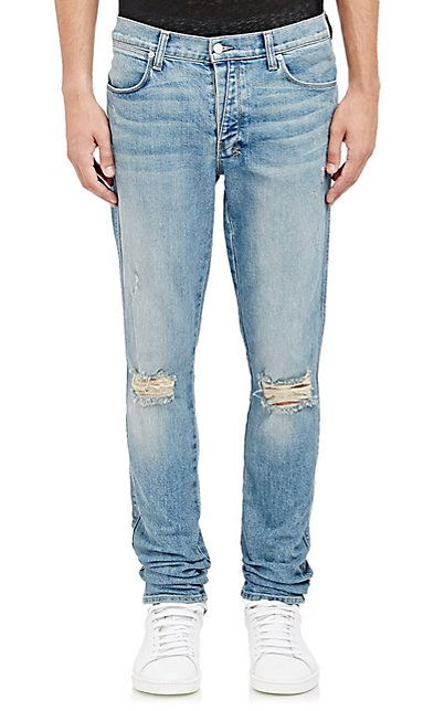 We Adore: The Van Winkle Non Cents Distressed Skinny Jeans from ...