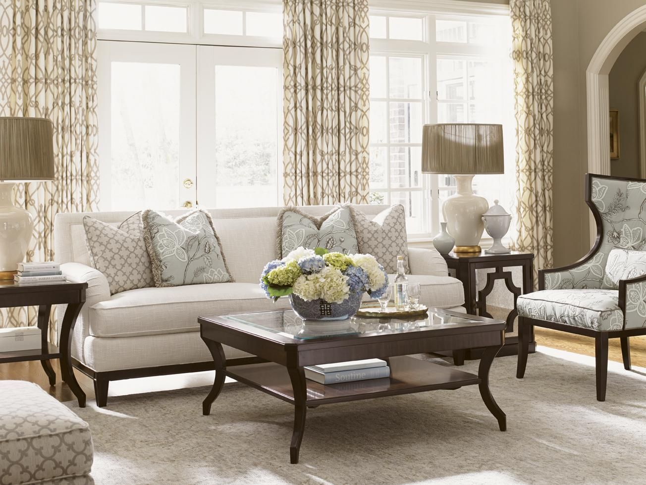 Kensington Place Stationary Living Room Group By Lexington At Belfort  Furniture
